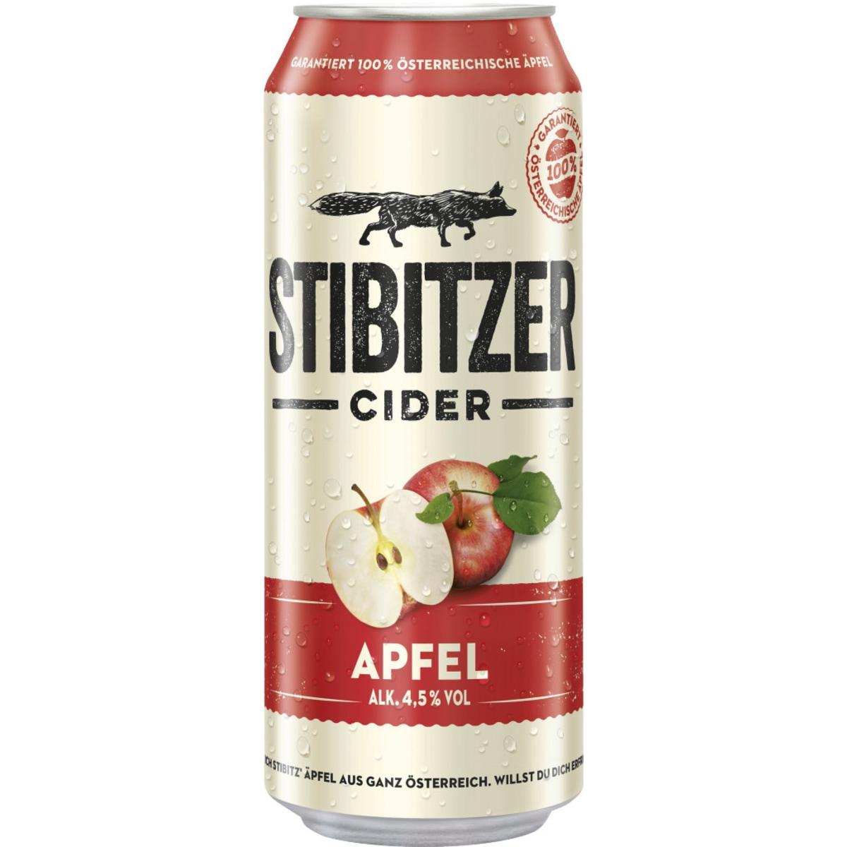 Stibitzer Apfel Cider 0,5l Dose