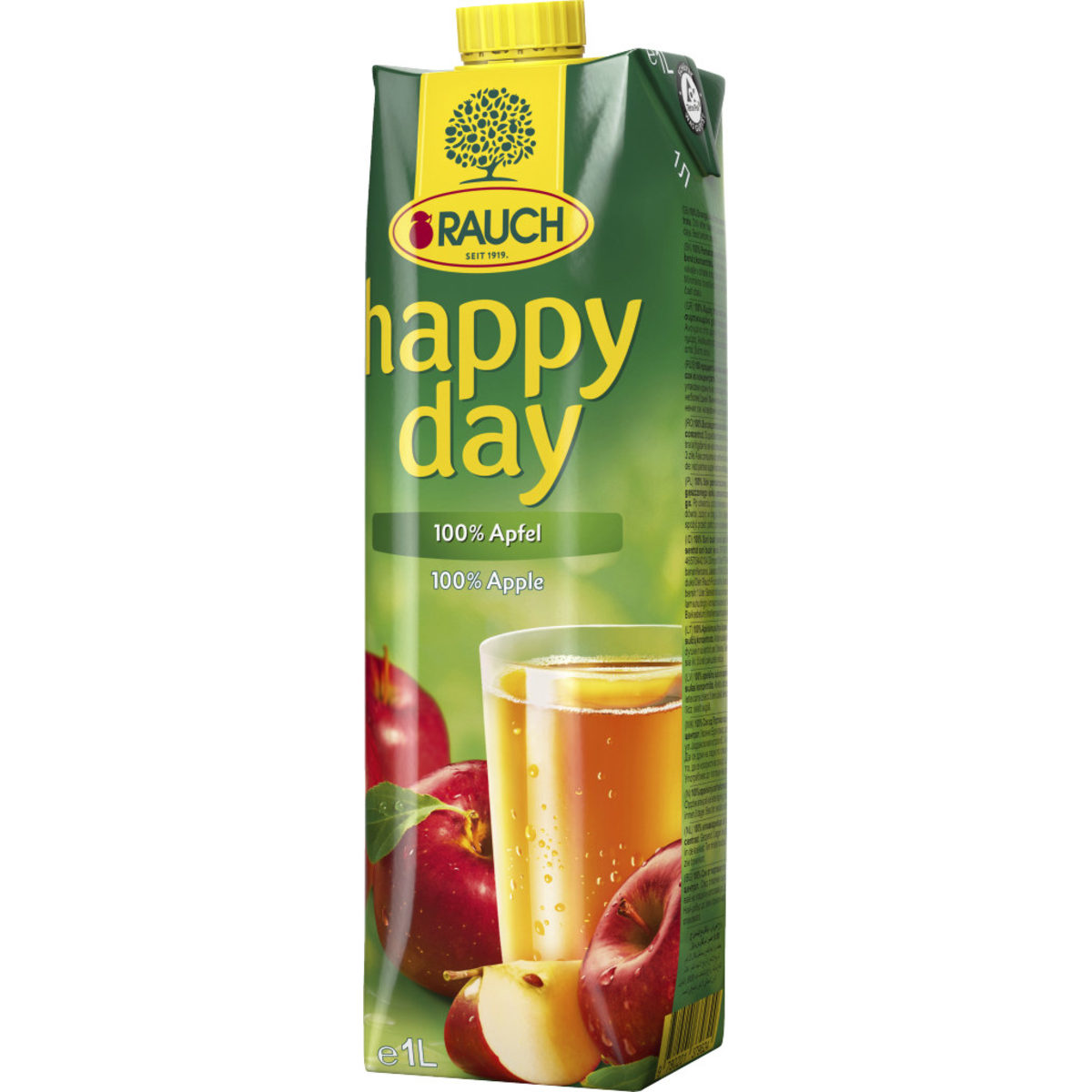 Happy Day Apfelsaft 1,0lt.