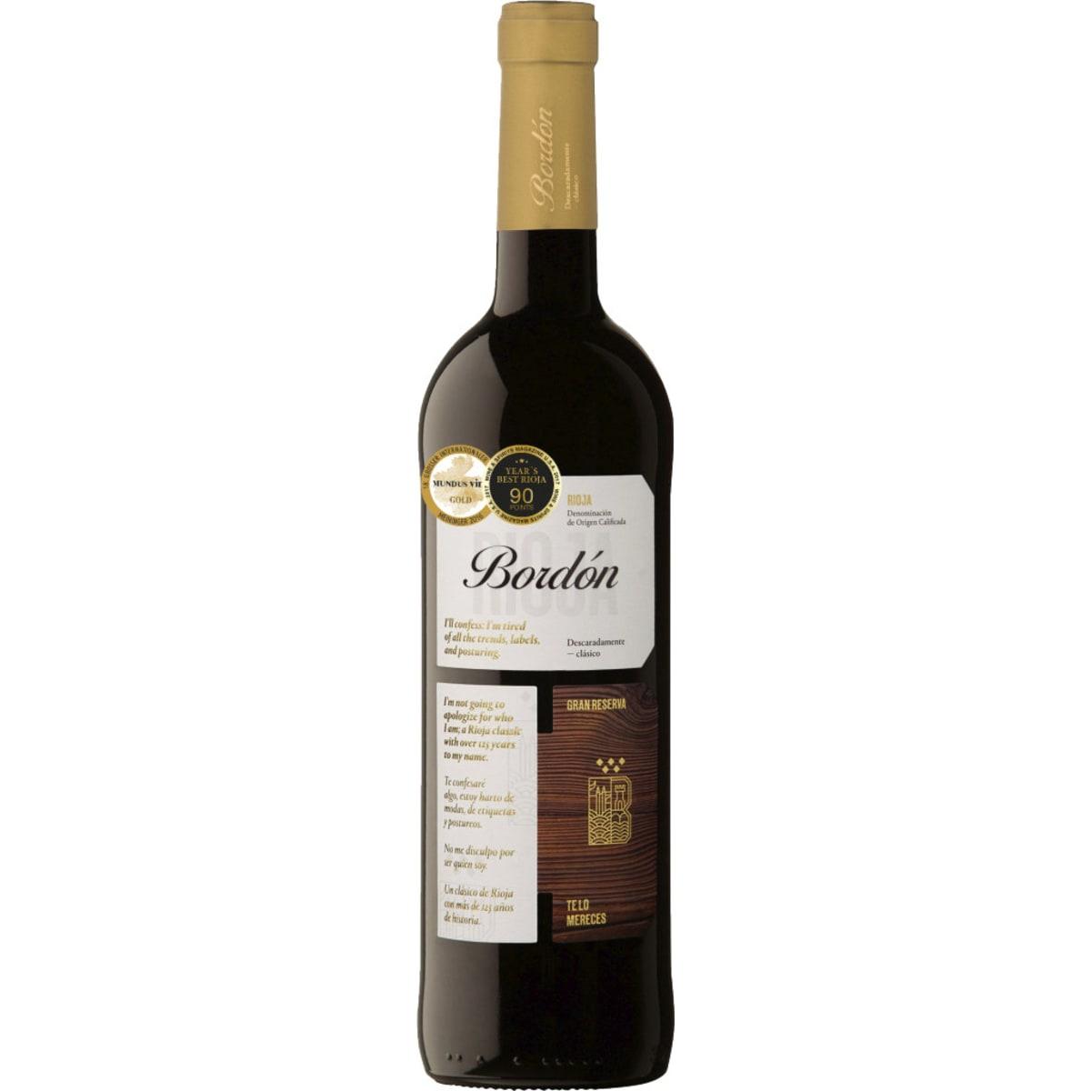 Fr. Espanolas Bordon Rioja Gr.Res. 2008
