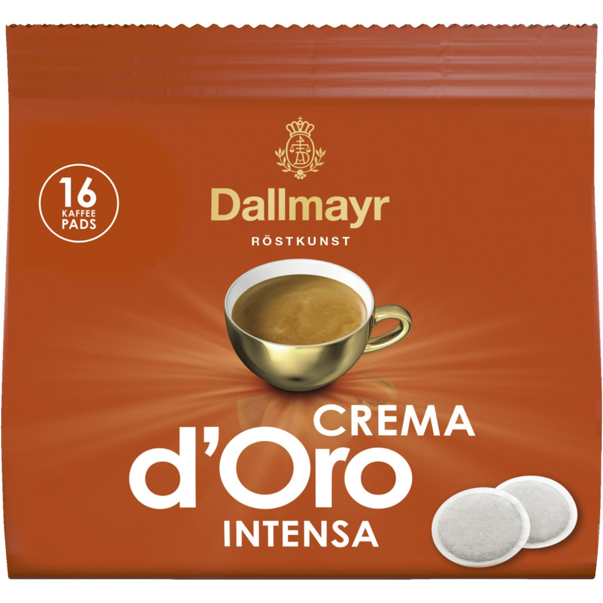 Dallmayr Crema d´Oro Intensa 16er Pads