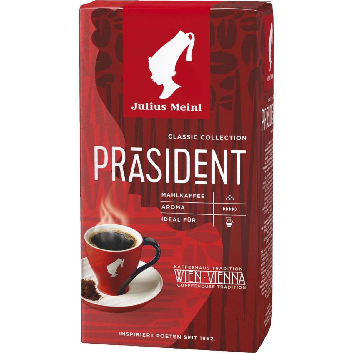 Meinl Präsident gemahlen