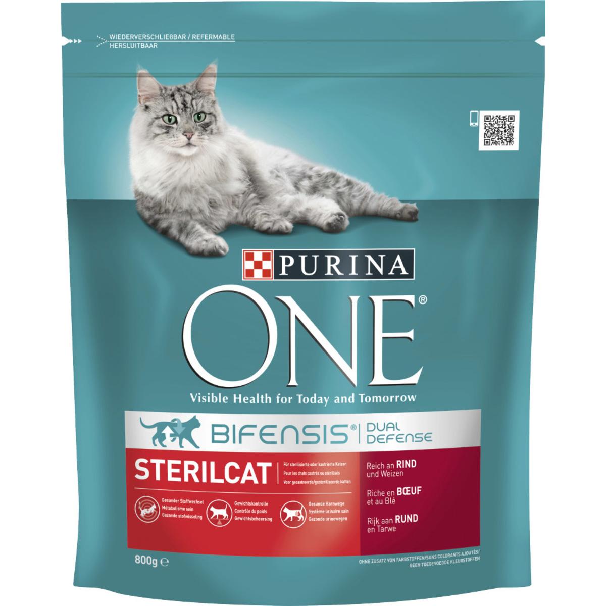 Purina One Sterilcat Rind&Weizen