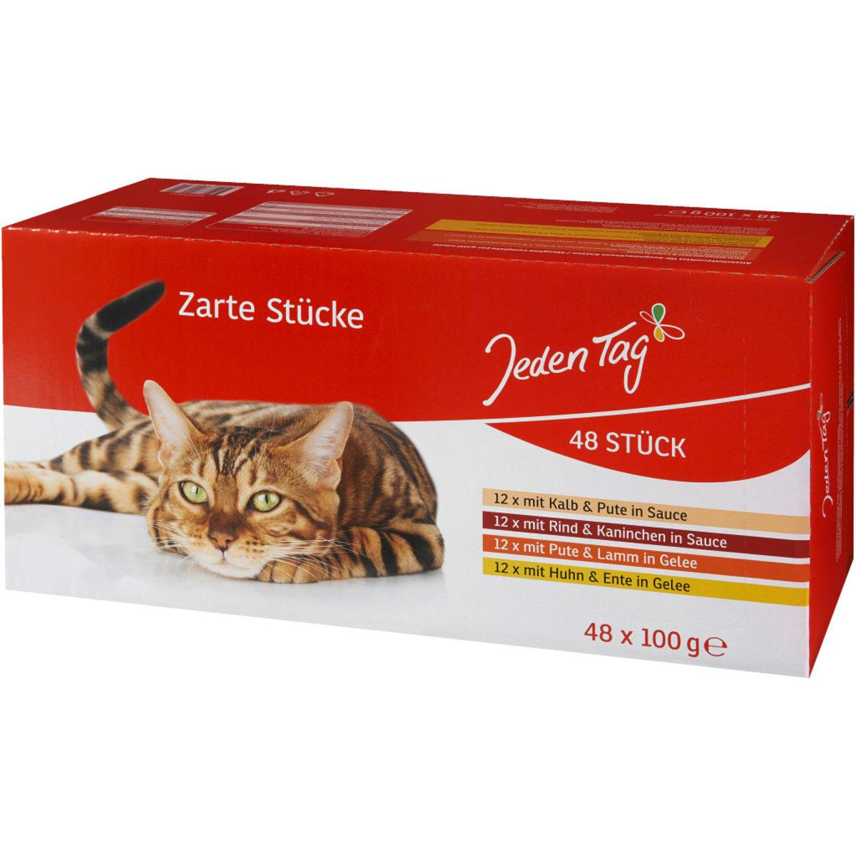 JT Katze Multipack 48x100g Pouches