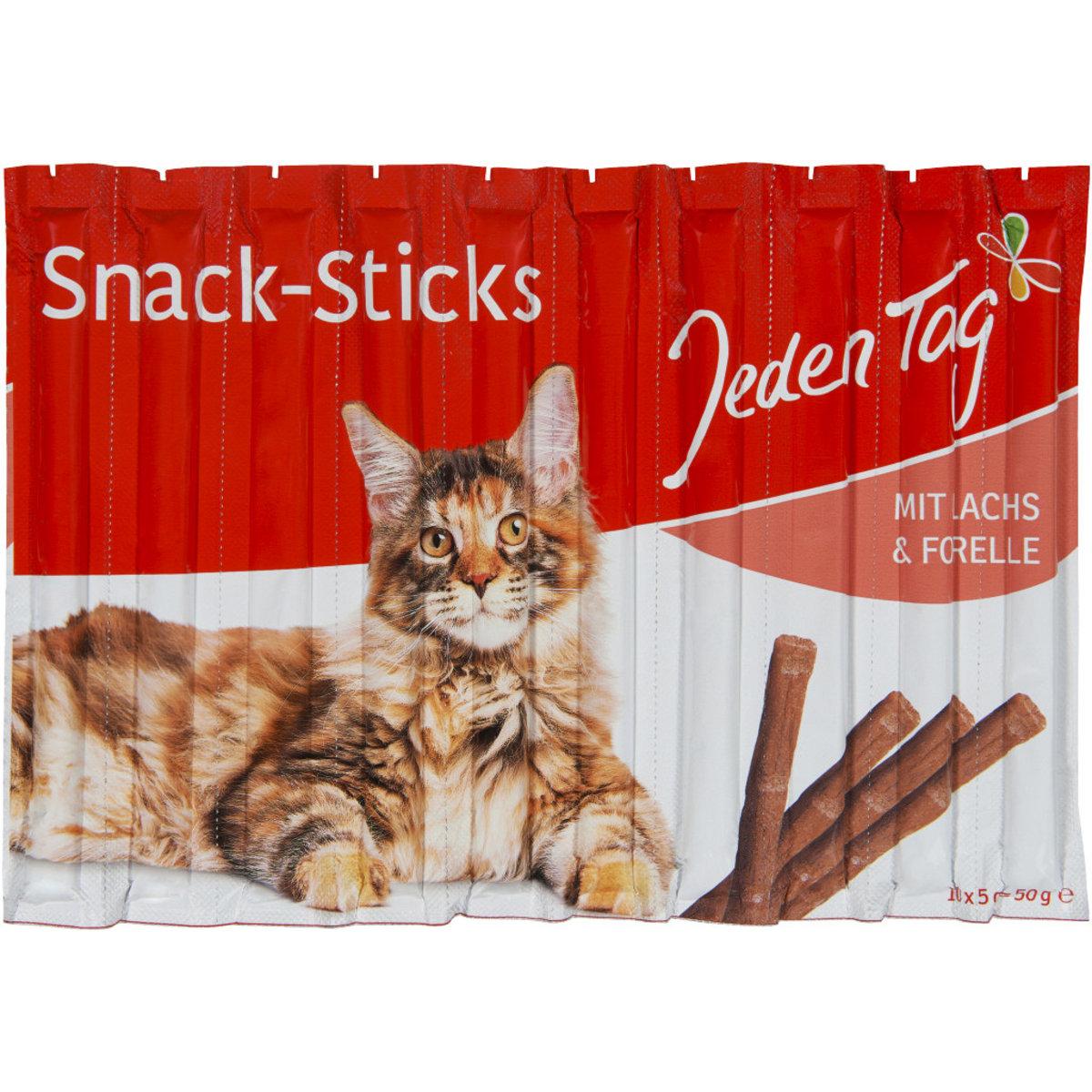 JT Katzen Sticks mit Lachs und Forelle