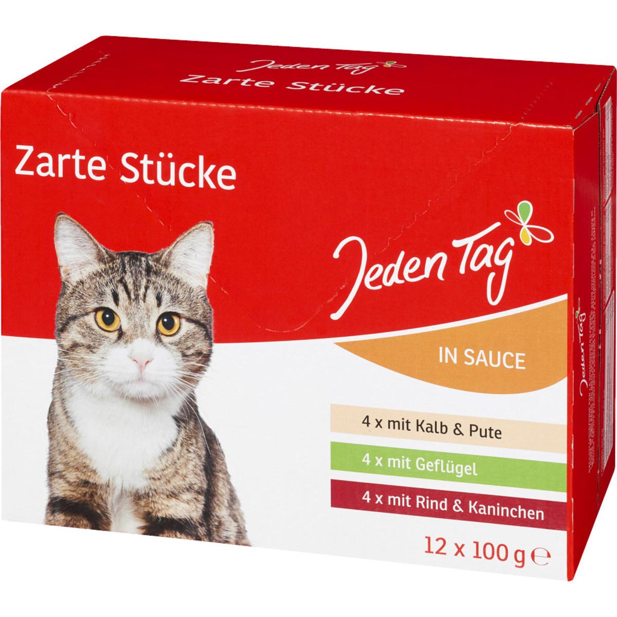 JT Katzen Multipack 12x100g in Sauce