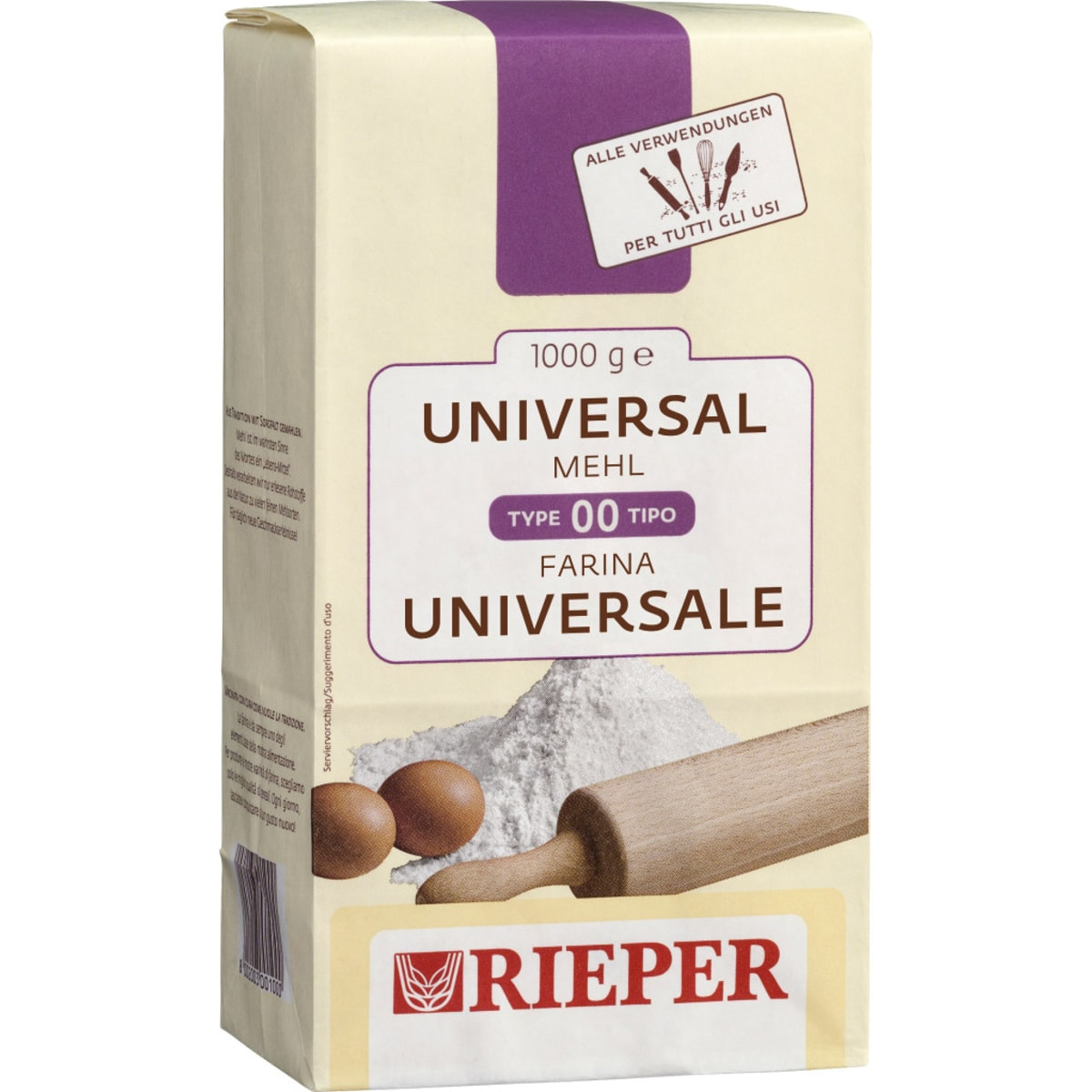 Rieper Universalmehl glatt