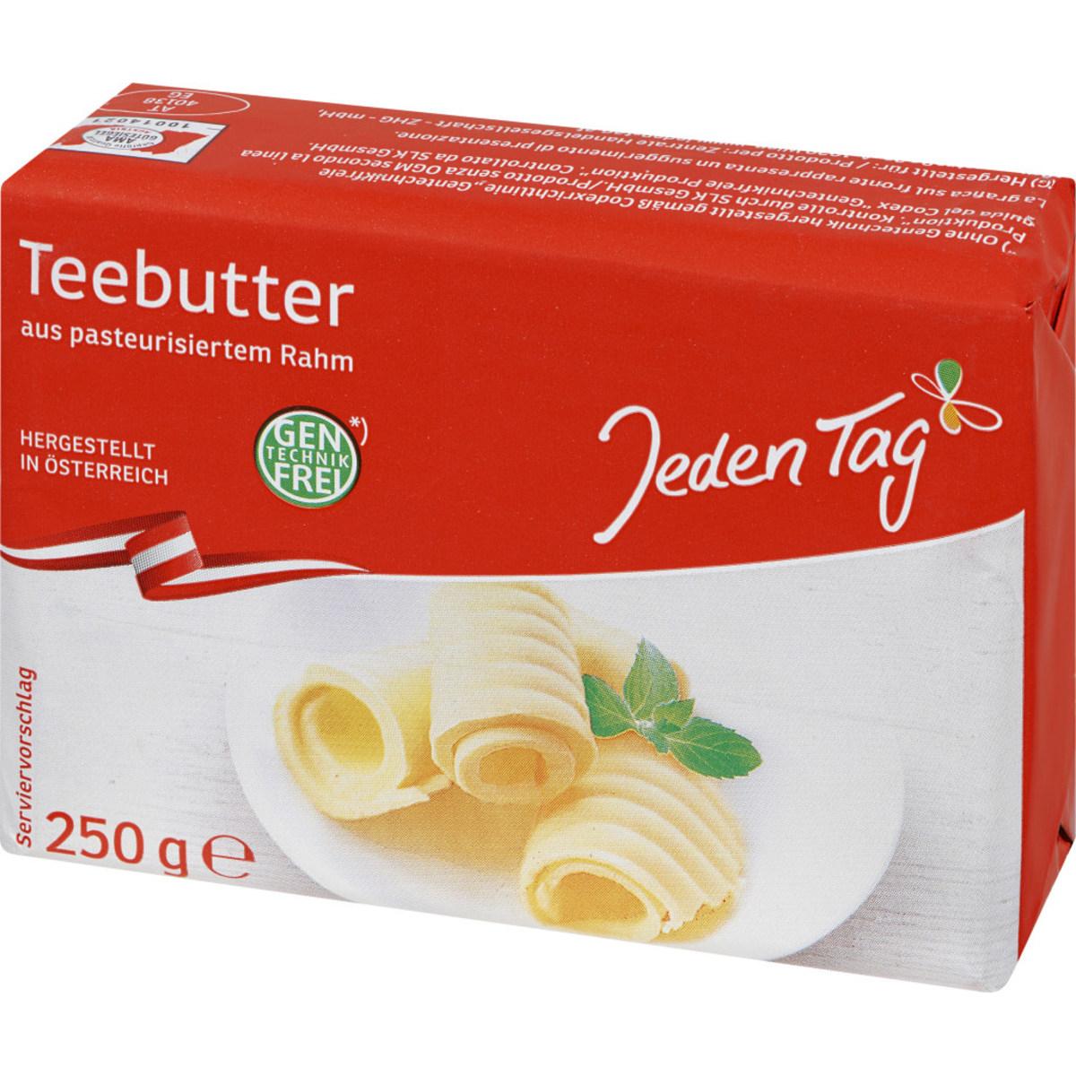 JT Österreichische Teebutter  o.Gent.