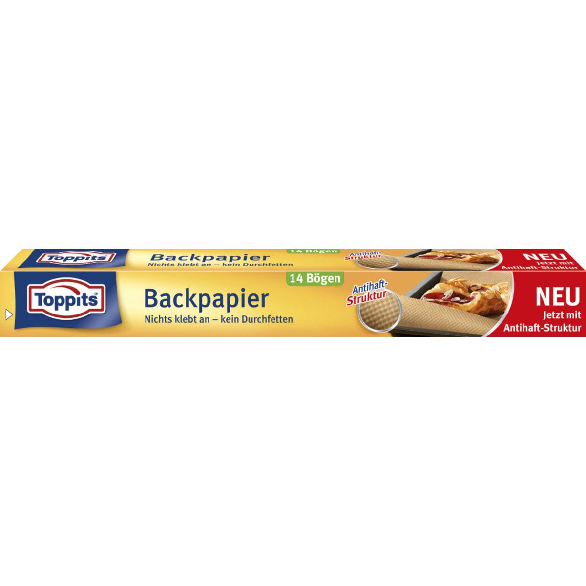 Toppits Antihaft Backpapier Bögen