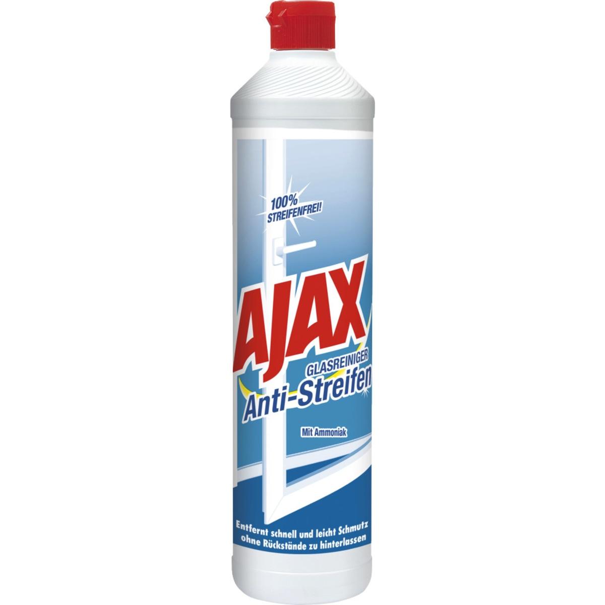 Ajax Glas&Flaechen Anti-Streifen