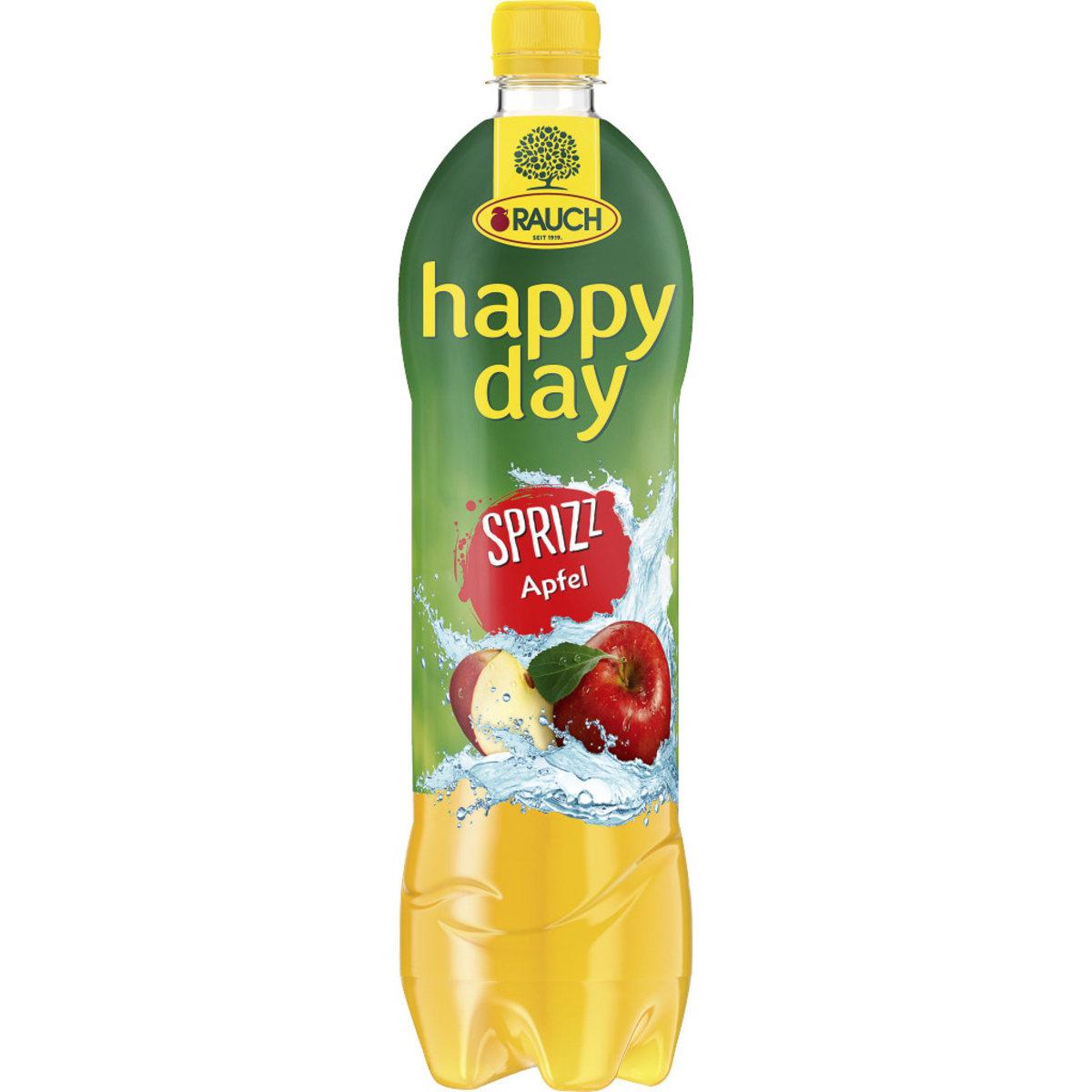 Happy Day Apfelsaft gespritzt 1,0 l