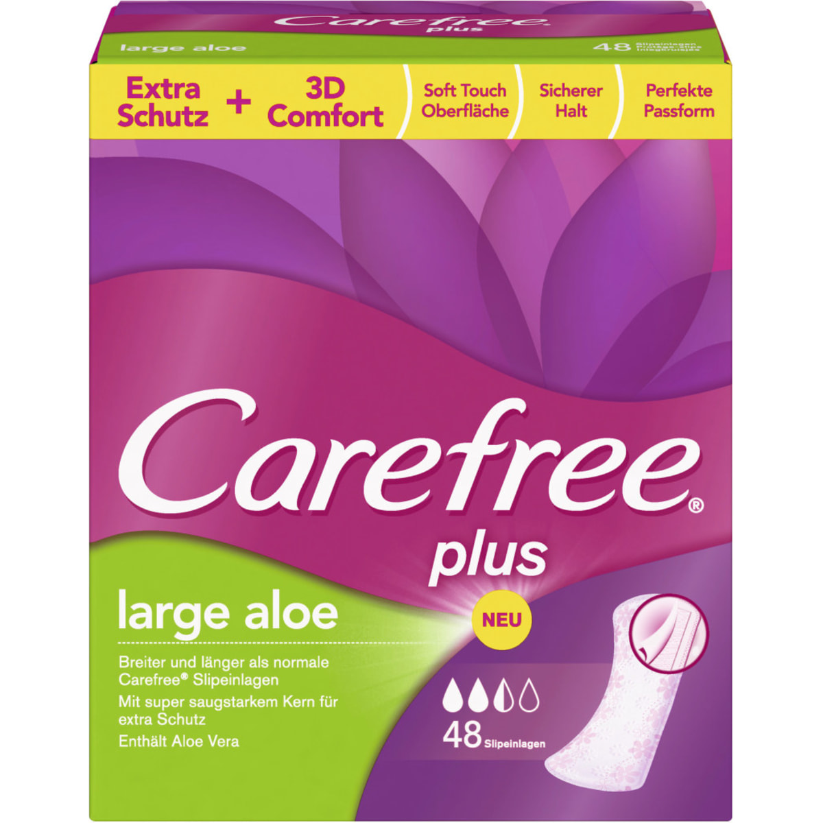 Carefree Plus Large Aloe