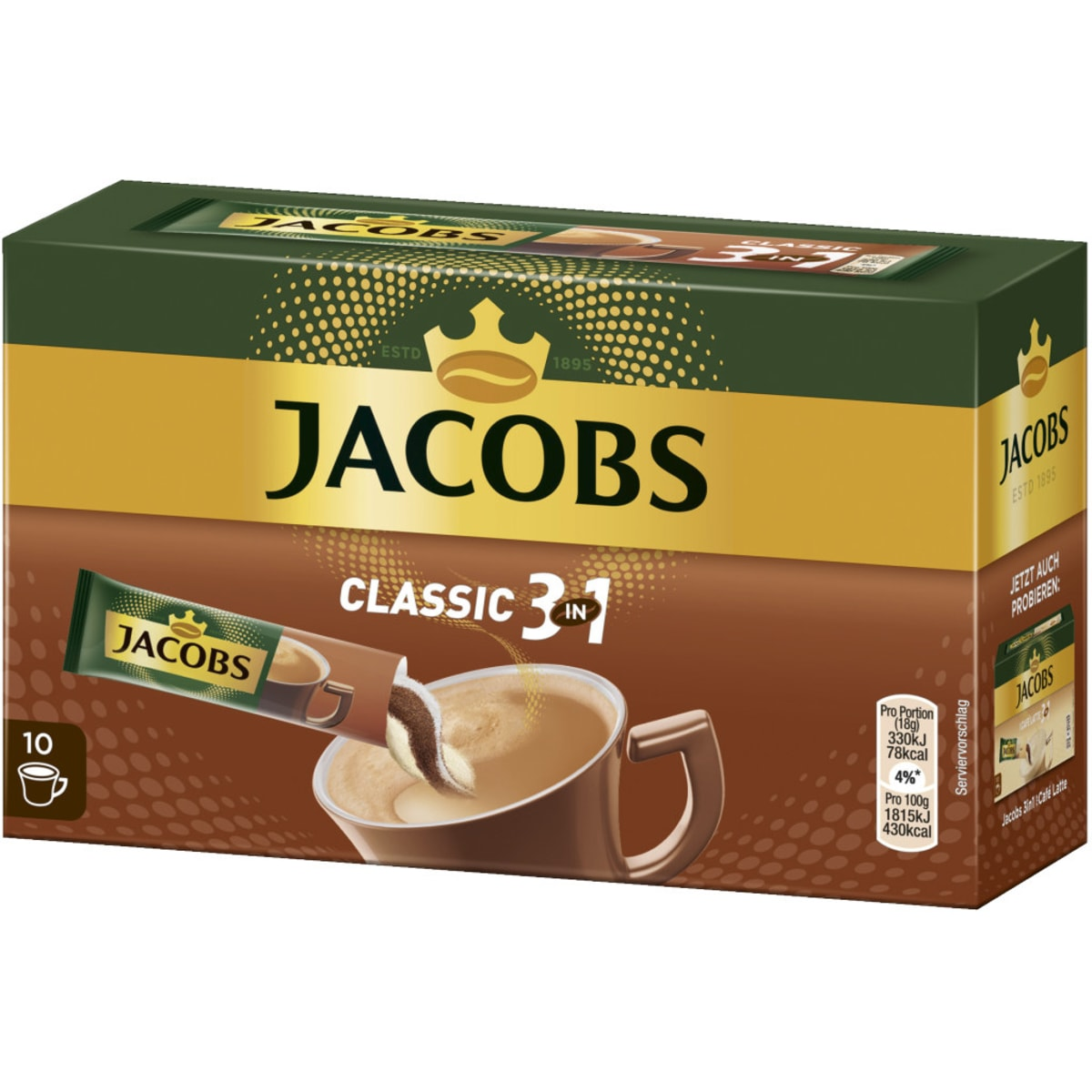 Jacobs 3in1 10 Sticks