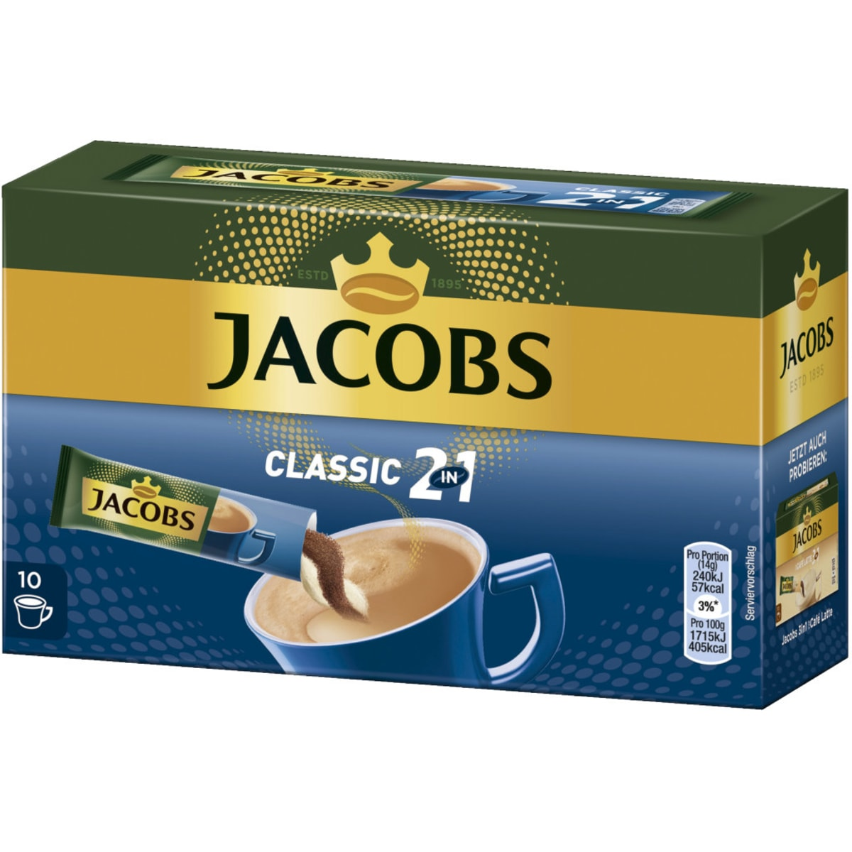 Jacobs 2in1 10 Sticks