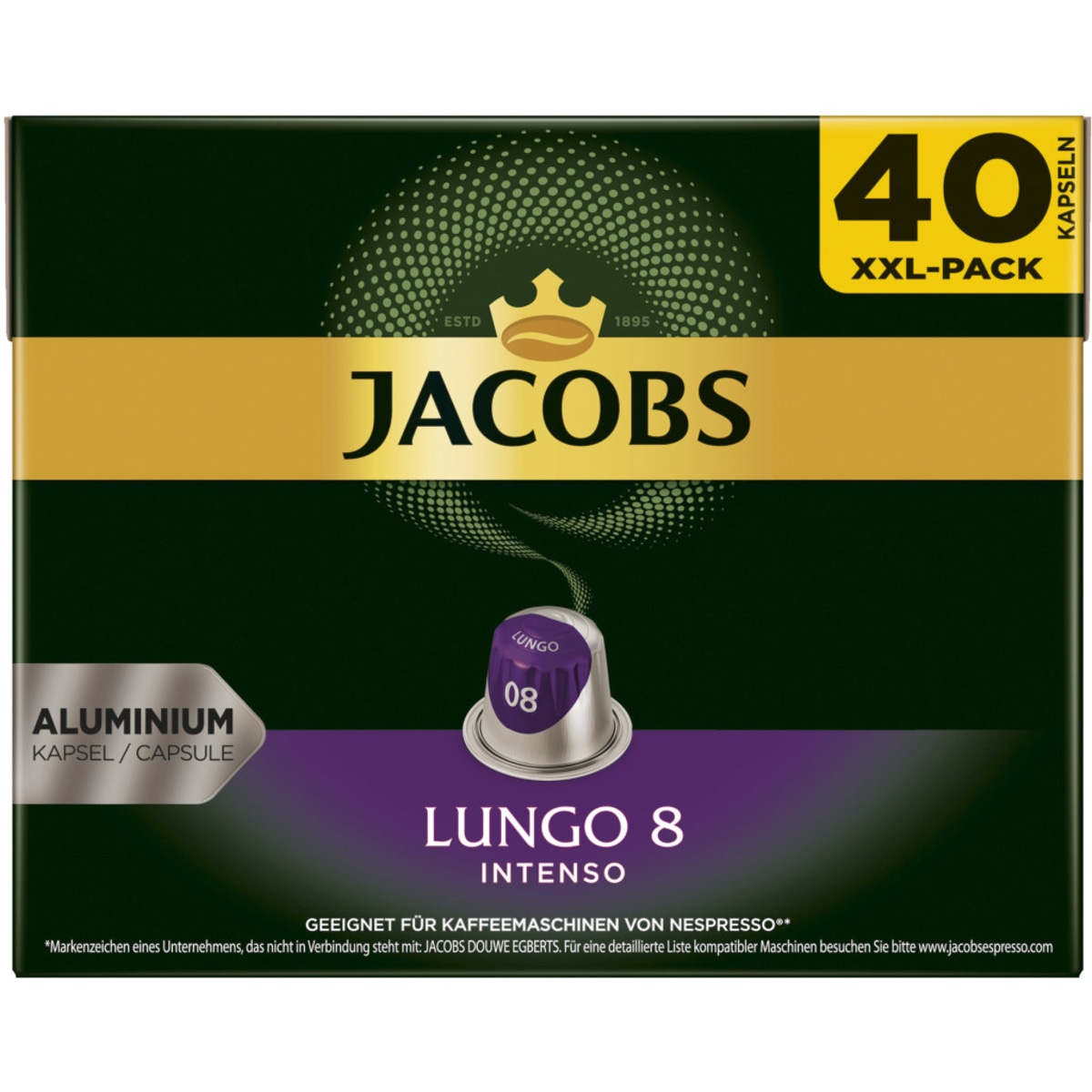Jacobs NC Kapseln Lungo Intenso 40er