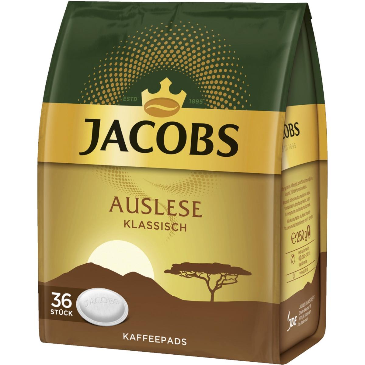 Jacobs Auslese Kaffee Pads
