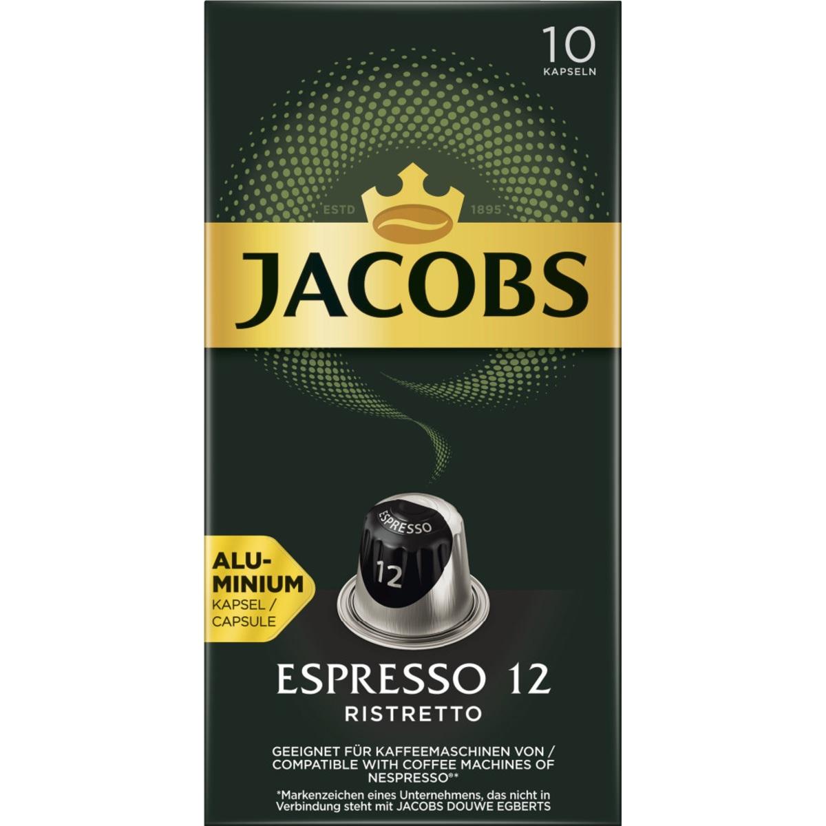 Jacobs NC Kapseln Espresso Ristretto