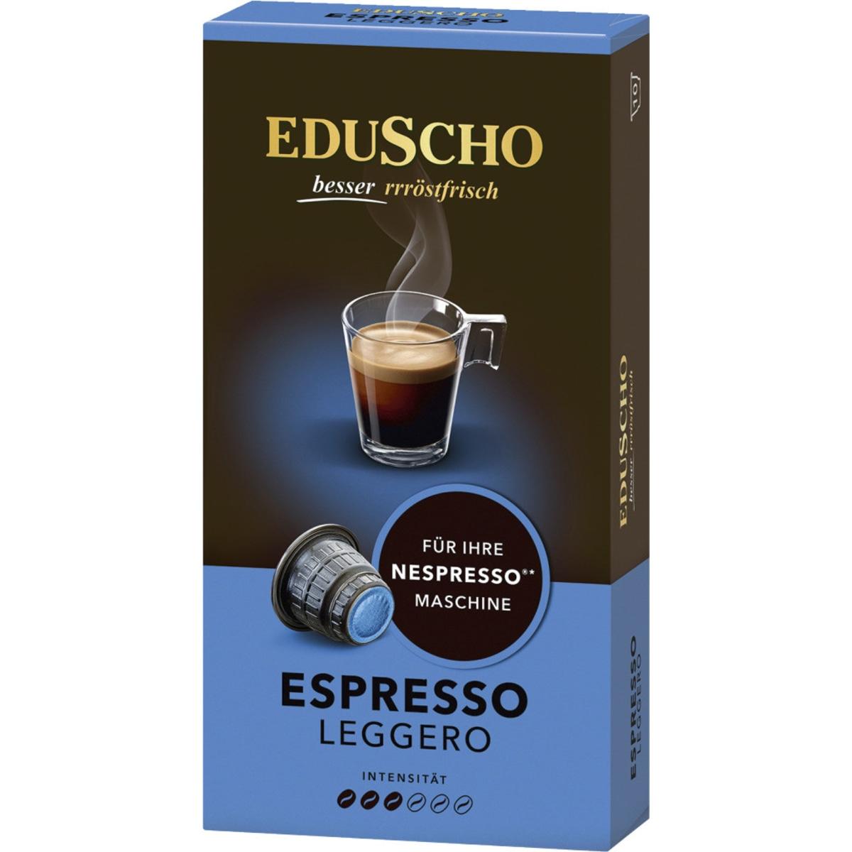 Eduscho NC Espresso Leggero Kapseln