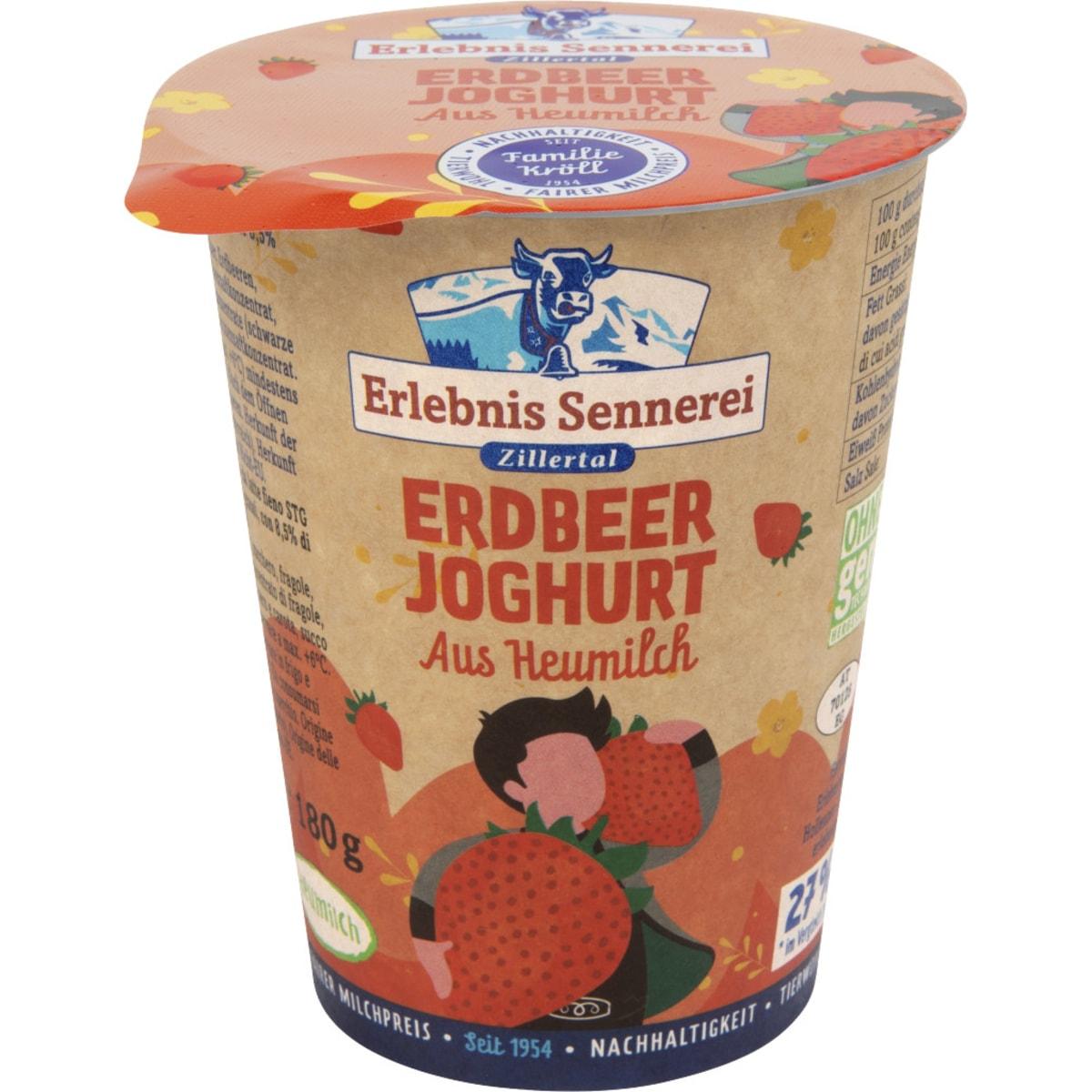 E.Senn.Zillert.Heumilchjogh.Erdbeer 3,5%
