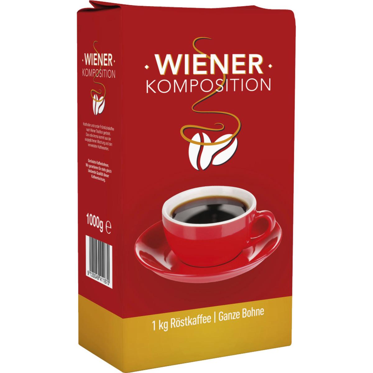 Wiener Komposition Bohnenkaffee