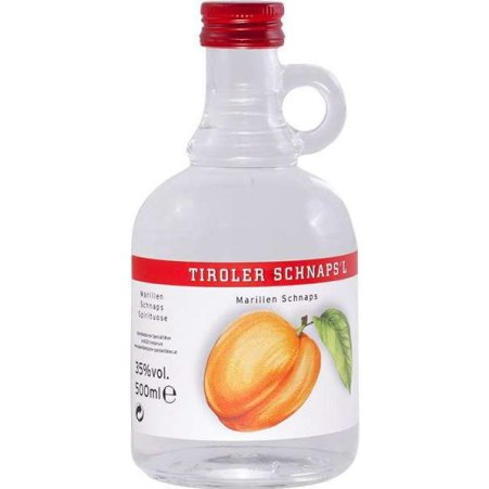 Alpenländische Spezialitäten Marillen Likör 18% 0,5 Liter
