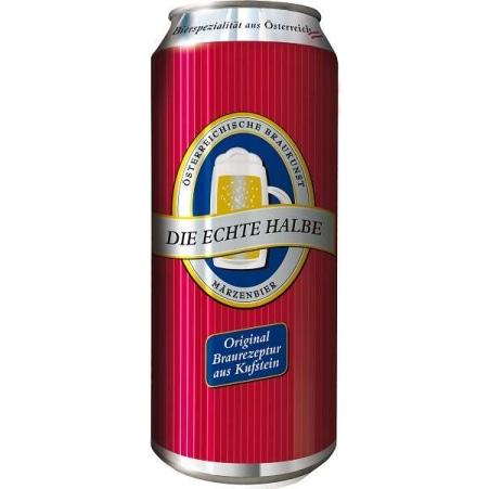 Echte Halbe Kufsteiner Märzenbier 0,5 Liter Dose