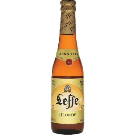 Leffe Blonde Bier 0,33 Liter Einweg-Flasche