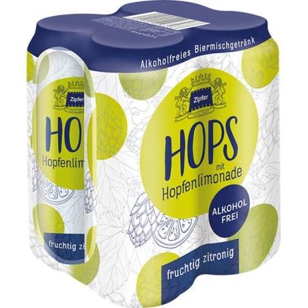 Zipfer Hops Zitrone Tray 4x 0,5 Liter Dose