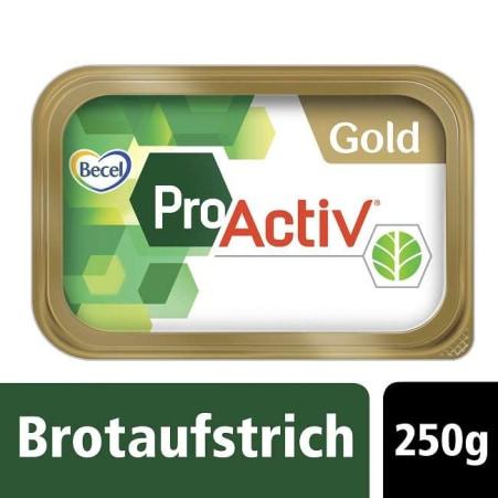 BECEL Pro Activ Margarine Brotaufstrich Gold