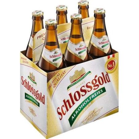 Schlossgold Alkoholfrei Tray 6x 0,5 Liter Mehrweg-Flasche