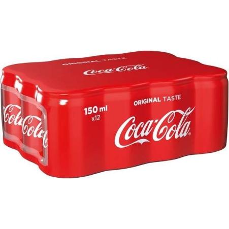Coca-Cola Original Minicans Tray 12x 0,15 Liter