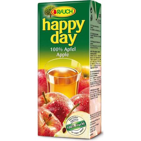 Rauch Bio Happy Day Apfelsaft 3x 0,2 Liter