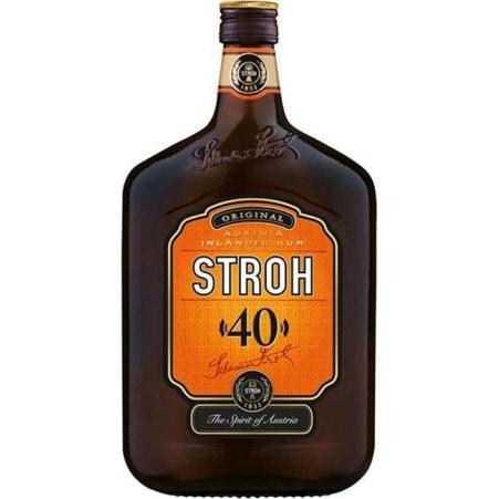 STROH Rum 40% braun 0,7 Liter