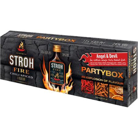 STROH Stroh Fire Partybox 20% 12x 0,02 Liter