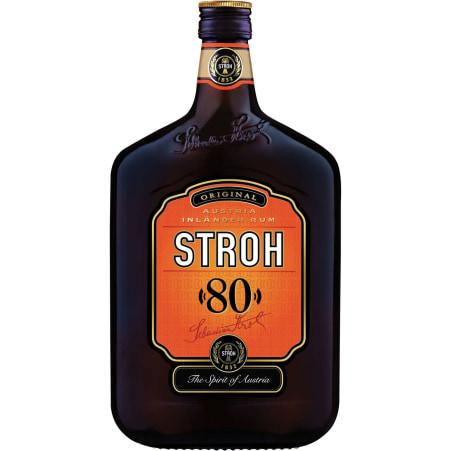 STROH Rum 80% 0,7 Liter