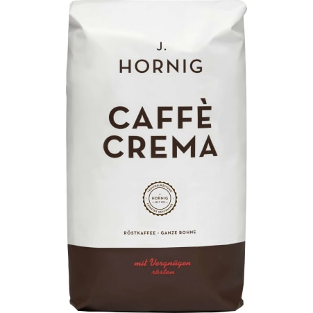 J. Hornig Caffe Crema ganze Bohne