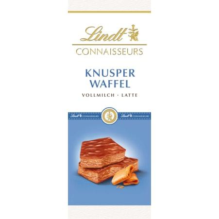 Lindt&Sprüngli Schokolade Connaisseurs Knusper Waffel