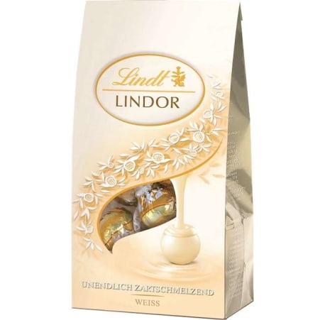 Lindt&Sprüngli Lindor Kugeln Weiß 125 gr