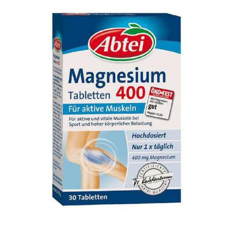 Abtei Magnesium 400 für aktive Muskeln Tabletten