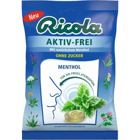 Ricola Aktiv Frei ohne Zucker 75 gr