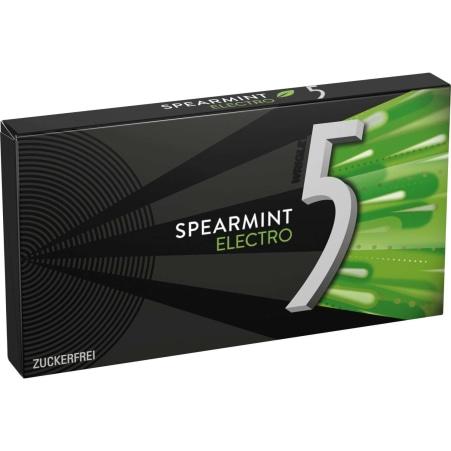 Wrigley´s 5 Gum Spearmint Electro
