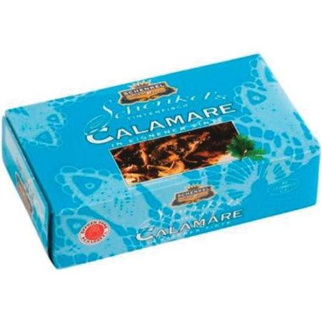 Schenkel Calamare in Tomatensauce und eigener Tinte