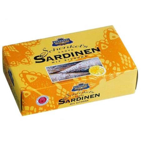 Schenkel Sardinen mit Zitrone