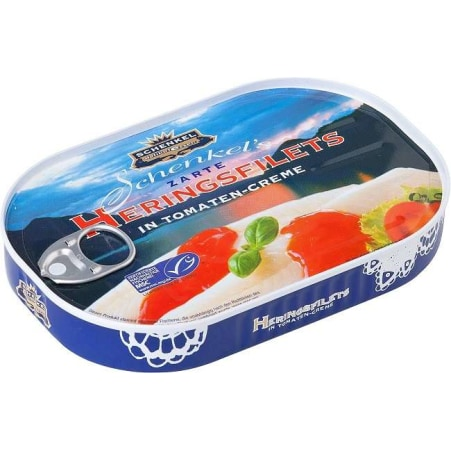 Schenkel Heringsfilets Tomaten
