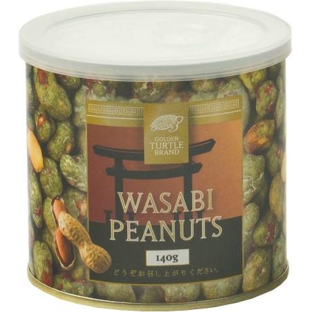 GOLDEN TURTLE BRAND Wasabi Erdnüsse