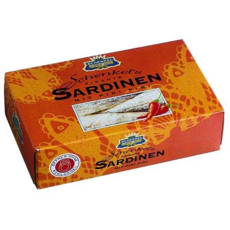 Schenkel Sardinen mit Piri Piri