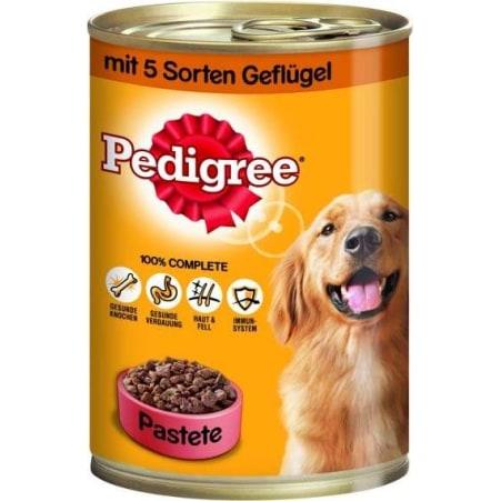 PEDIGREE Hundenahrung Geflügel 3 Sorten