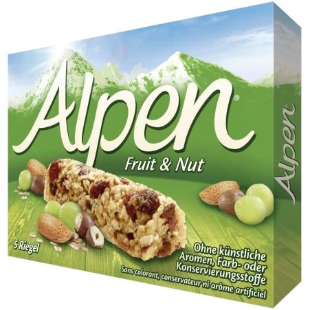 Alpen Frucht & Nussriegel