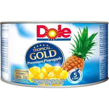 Dole Ananasstücke in Saft 0,236 Liter