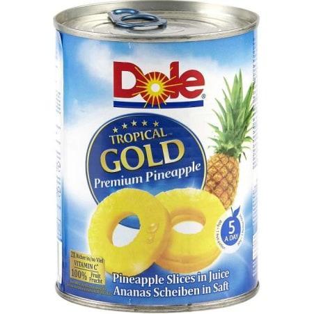 Dole Ananasscheiben in Saft 580 ml
