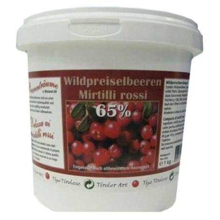 Blåtand Preiselbeeren 65% Frucht